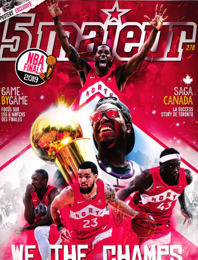 Magazine de Basket Ball et NBA - 5 Majeur Magazine