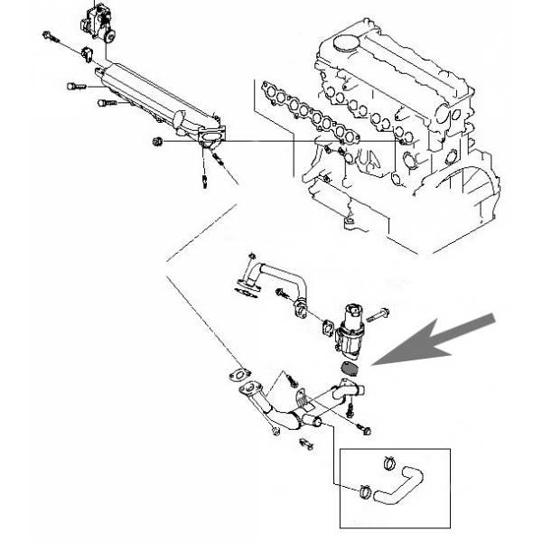 Plaque de suppression de la vanne EGR pour les moteurs 1.6