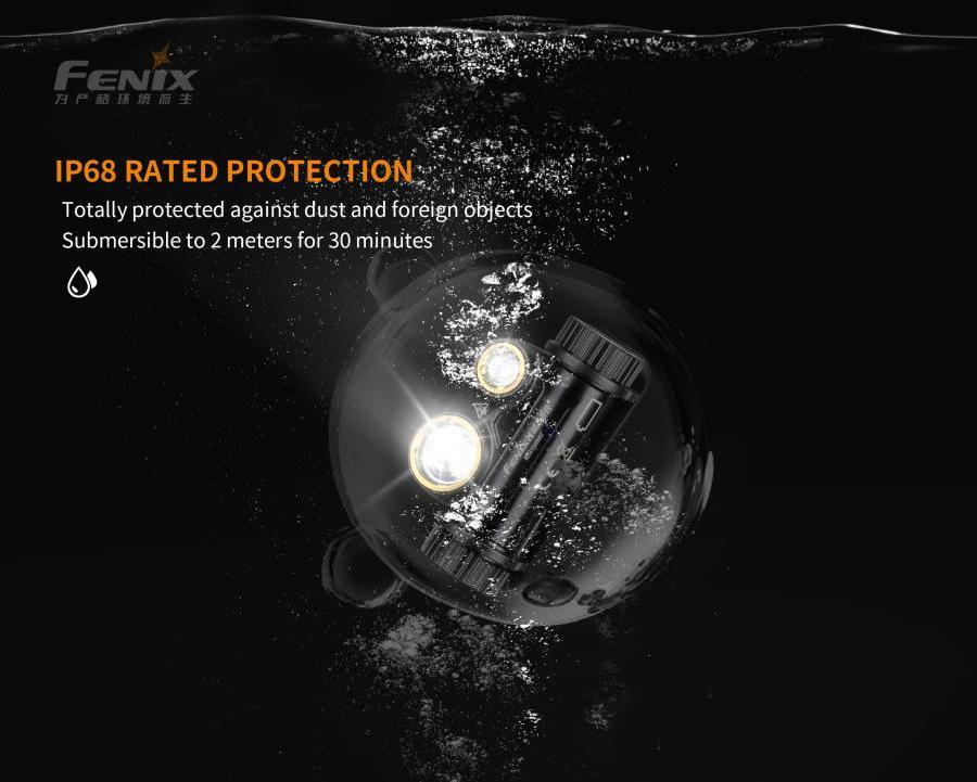 Nabíjacia LED čelovka Fenix HM65R