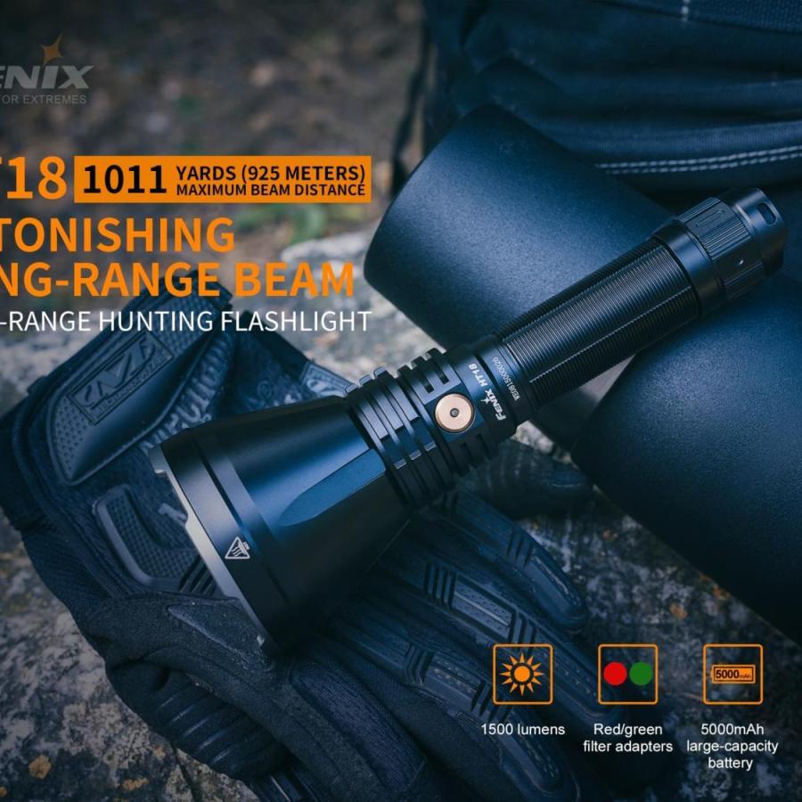 Poľovnícka LED baterka Fenix HT18