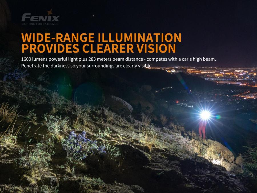 Nabíjacia LED baterka Fenix PD36R