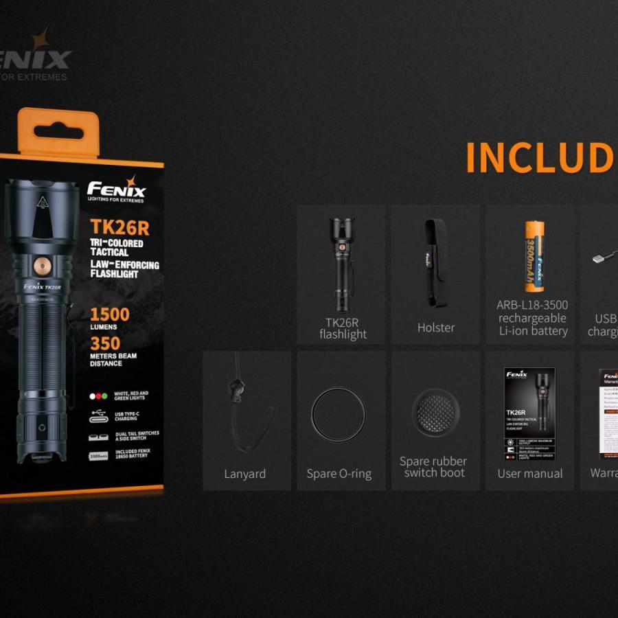 Taktická LED baterka Fenix TK26R