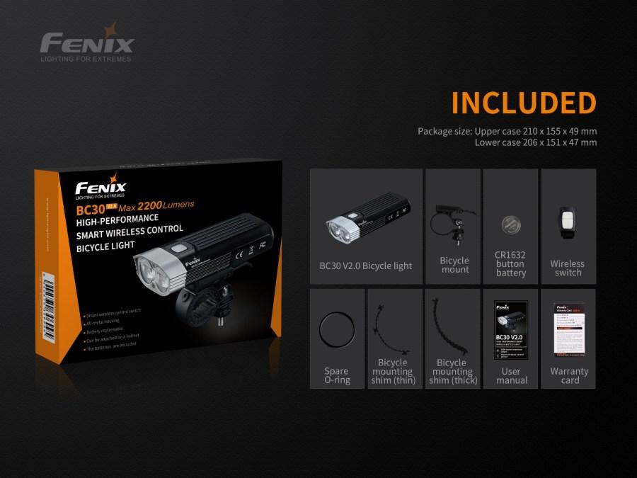 Cyklosvetlo Fenix BC30 V2.0