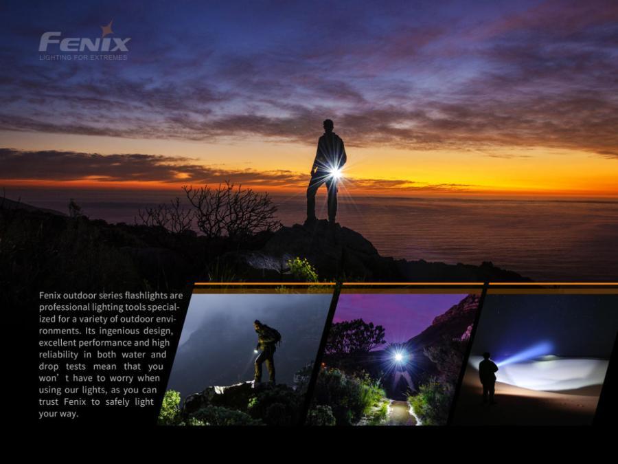 Nabíjacia LED baterka Fenix PD40R V2.0 1