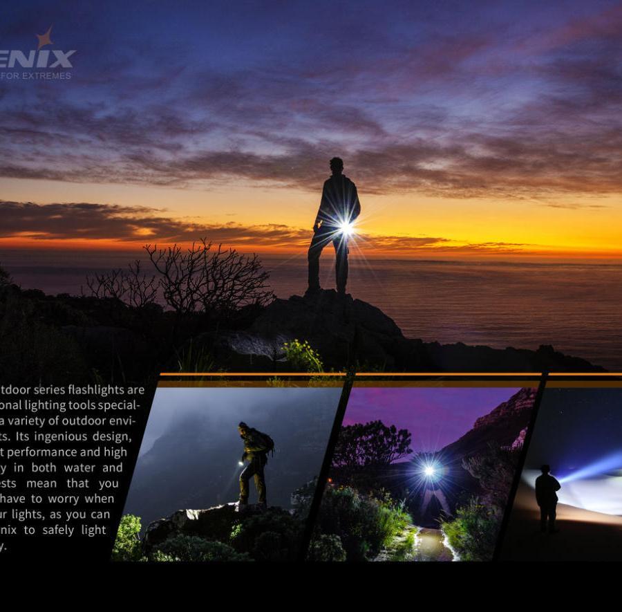 Nabíjacia LED baterka Fenix PD40R V2.0 14