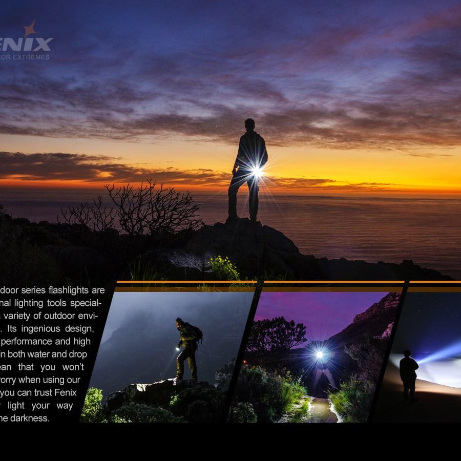 Nabíjacia LED baterka Fenix E03R 2