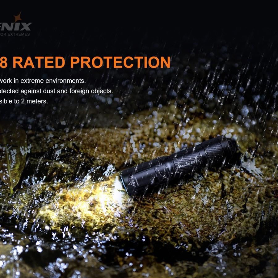 LED baterka Fenix E01 v2.0
