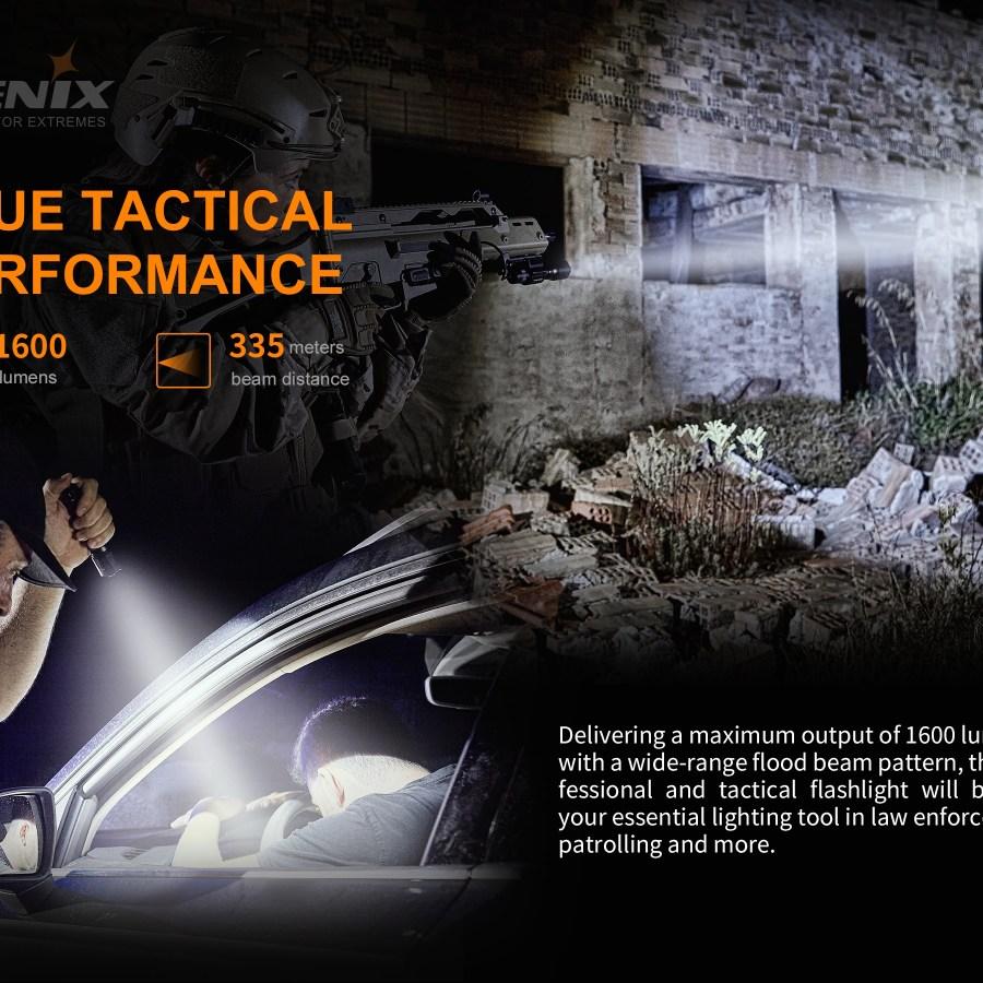 Taktická LED baterka Fenix TK11 TAC