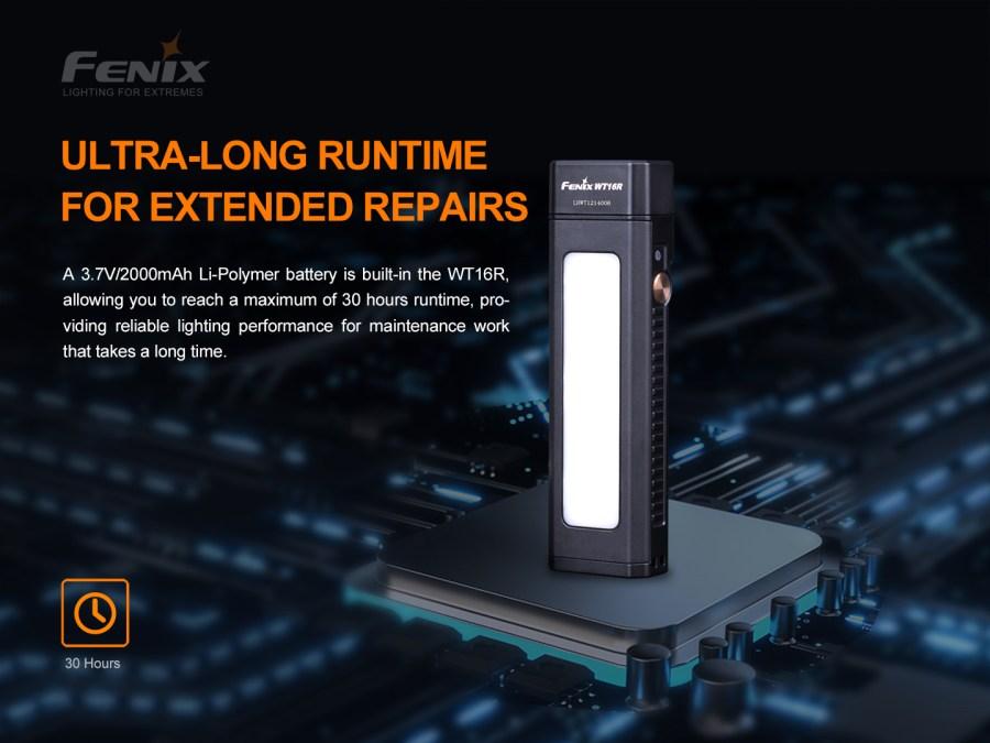Nabíjacia LED baterka Fenix WT16R