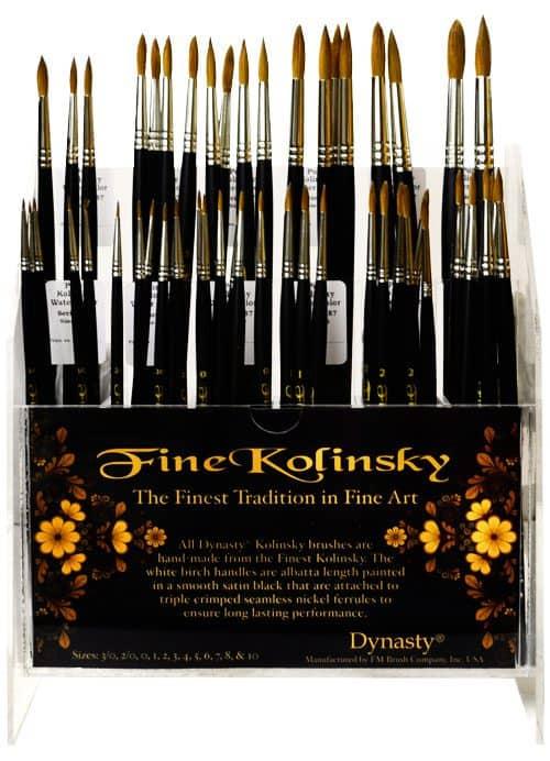 Fine Kolinsky Assortment