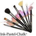 Ink-Pastel-Chalk by Dynasty