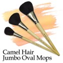 Camel Hair Jumbo Oval Mop