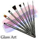 Glass Art Brushes by Dynasty