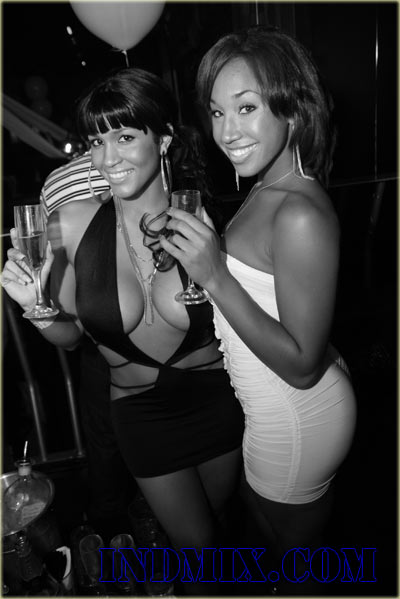 Rosa Acosta and Diznee at Eyecandy Fridays in Houston