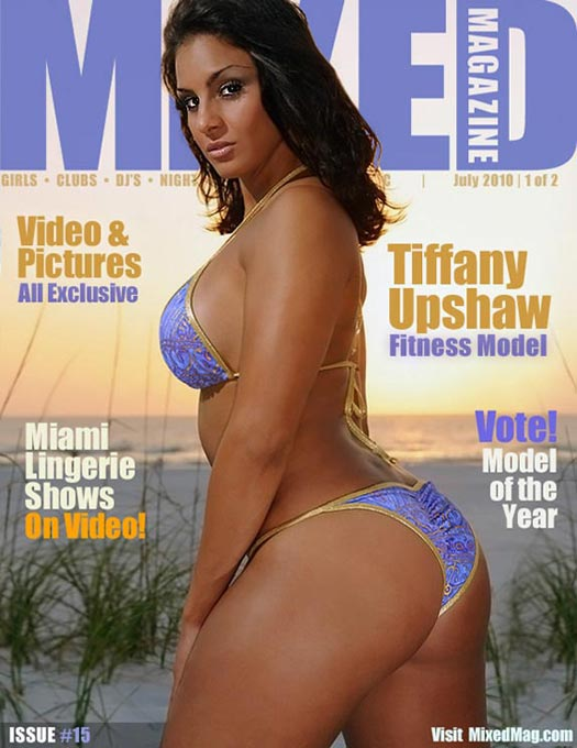 Tiffany Upshaw in new issue of MixedMag.com