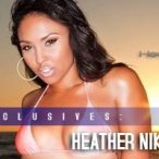 Heather Nikole - New Video and Pix - in September issue of Black Lingerie
