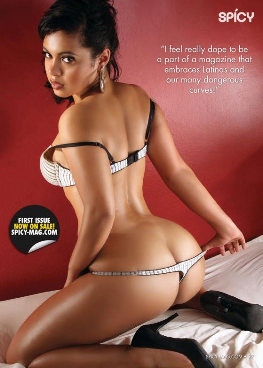 Spicy Magazine Premiere Issue Preview - Nadia
