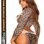 Jazzie Belle in latest issue of Straight Stuntin - courtesy of Facet Studio