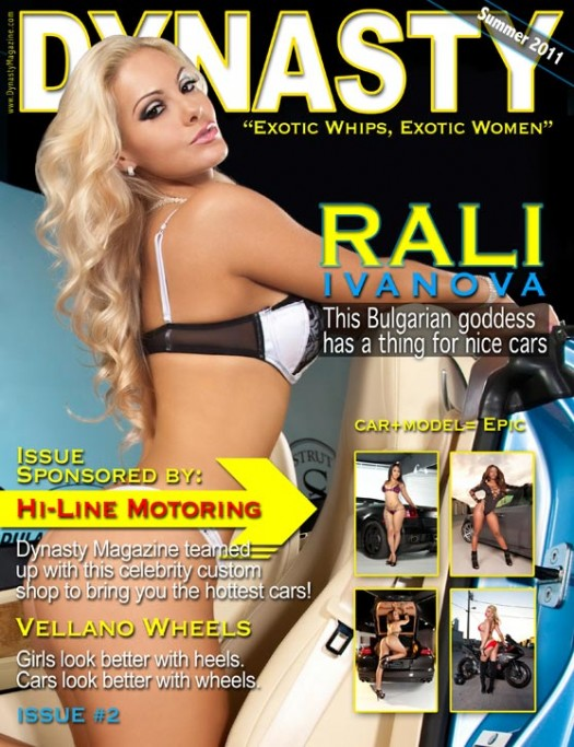 Danica Logan in the latest issue of Dynasty Magazine