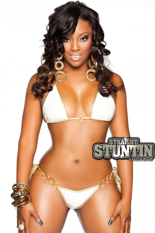 Nichelle D in the latest issue of Straight Stuntin