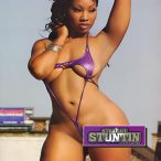 Cynthia Hike in the latest issue of Straight Stuntin
