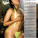 More of Keani Cochelle in Premiere Issue of DreamGirls Magazine