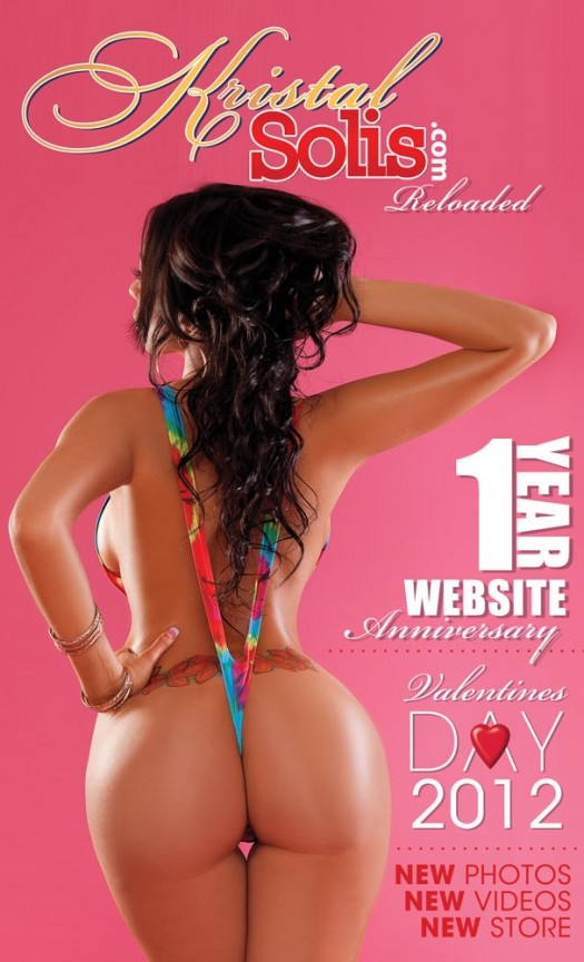 Pic of the Day: KristalSolis.com Reloaded - Coming Valentine's Day