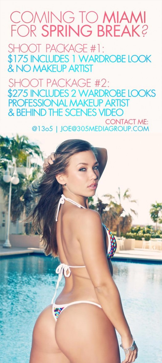 305 Media Group Miami Spring Break Photoshoot Special