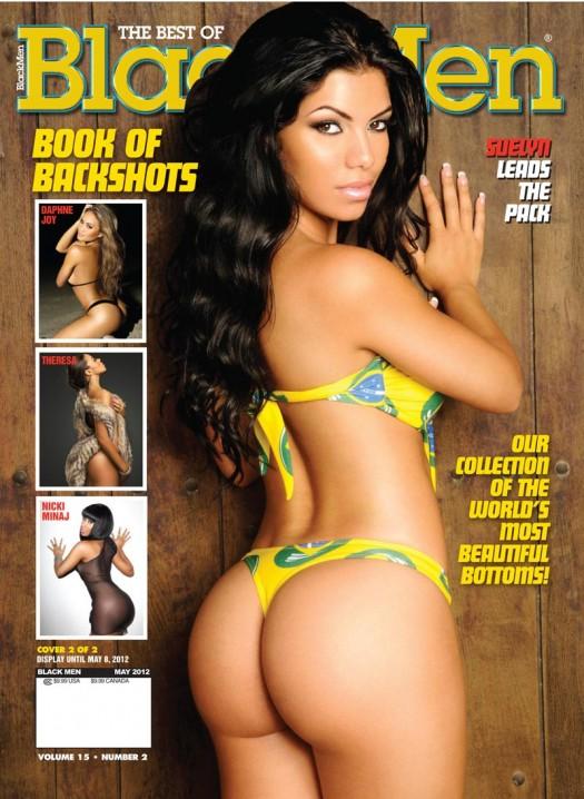 Get New Issue of Blackmen Magazine - featuring Suelyn Medeiros, Daphne Joy, Kimmy Maxx, and more