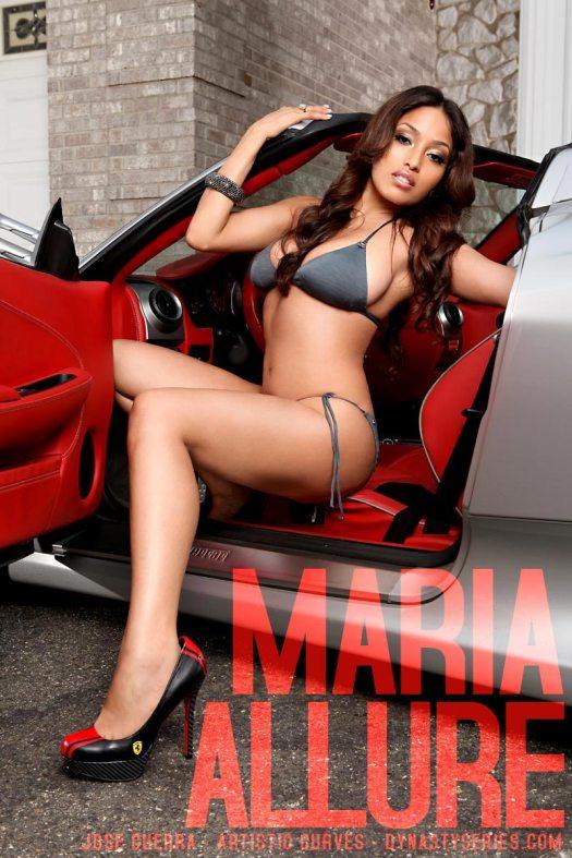 Maria Allure: Ferrari - Joe Guerra - Artistic Curves - Future Kicks