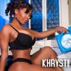 Khrysti Hill: Khrysti with Bleach - courtesy of Rho Photos