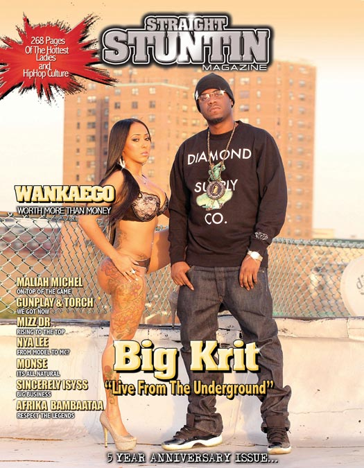 Wankaego on the cover of Straigh Stuntin: Behind the Scenes Video