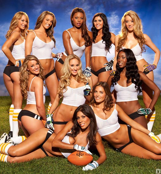 Lingerie Football League x Playboy - on DSAfterDark.com