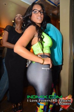 Yaris Sanchez @Yaris_Sanchez in Houston at Bambou May 4th with Lil Keith and @IAmMaliahMichel and @R_o_s_e_e_