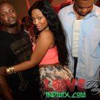 Kyra Chaos @KyraChaos at Bambou Nightclub in Houston with Chris Johnson and Lil Keith