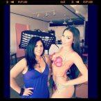 Kristal Solis @KristalSolis: Body Paint - Pics and Video - D.Brown