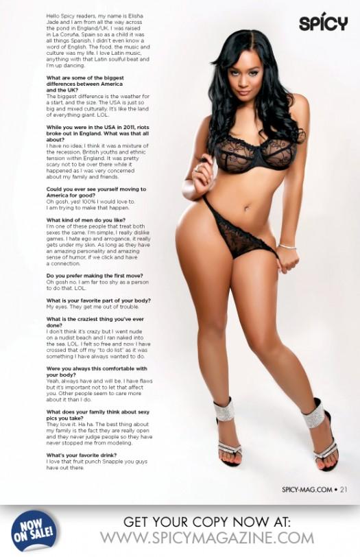 Spicy Magazine Issue 2 Previews: Elisa Jade @iloveleesh and Brittany Raye @lavitabellaaaa