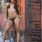 Candy Richards @Candy_Richards in Straight Stuntin Magazine