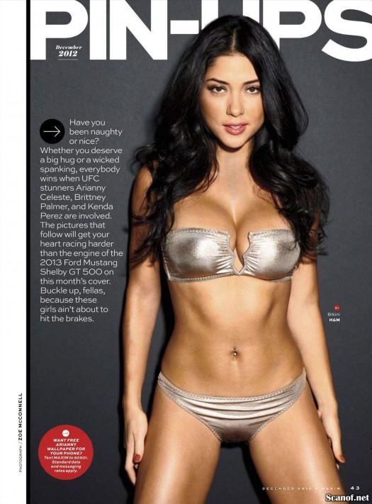 Arianny Celeste @AriannyCeleste on cover of Maxim Magazine