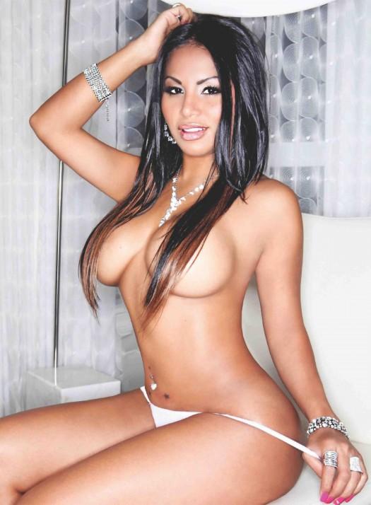 Dolly Castro @DollyCastroXOXO in Blackmen Magazine