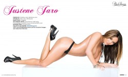 Justene Jaro @JusteneJaro in latest issue of Black Lingerie