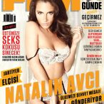 Natalin Avci @iamNATALIN on cover of FHM Turkey