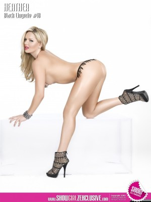 Heather Shanholtz @hshanholtz in latest issue of Black Lingerie
