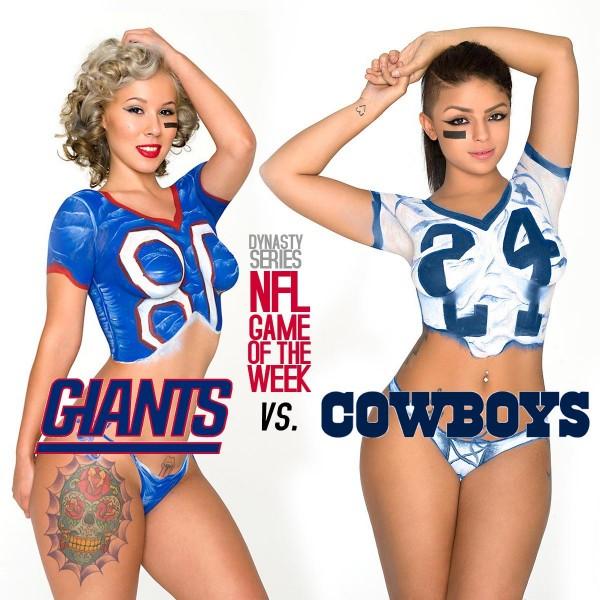 DynastySeries NFL Game of the Week: Savvy Delvecchio (Cowboys) vs Kim Killz (Giants) - Jose Guerra