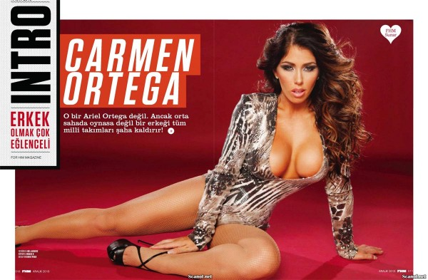 Carmen Ortiz in FHM Turkey