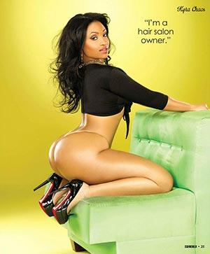 Kyra Chaos @kyrachaos in SHOW Magazine Issue 25