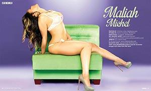 Maliah Michel @iammaliahmichel in SHOW Magazine Issue 25