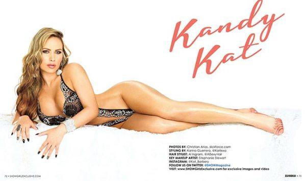 Kandy Kat @mizzkandykat in SHOW Magazine