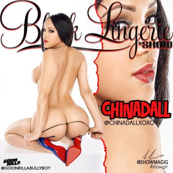 Warleska Rosario @chinadallxoxo - Black Lingerie Preview - Arabelle Modeling