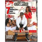 Cat Washington and Destiny Moore cover 7th Anniversary Issue of Straight Stuntin